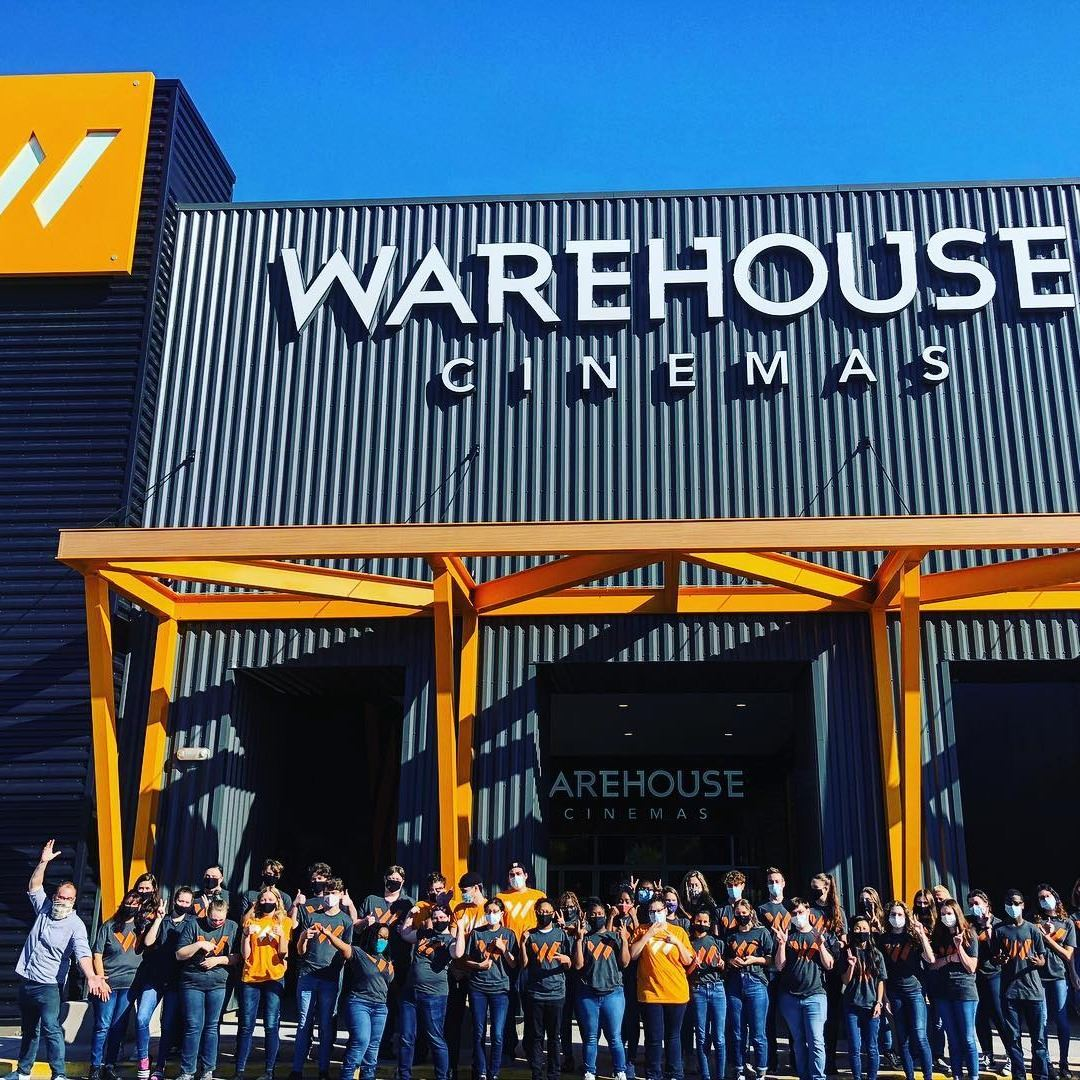 warehouse cinemas